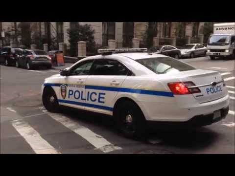 VERY RARE CATCH OF FEDERAL RESERVE POLICE DEPT. CRUISER PATROLLING IN WALL ST. AREA OF MANHATTAN.