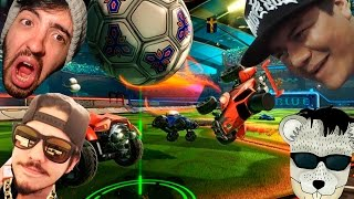 ROCKET LEAGUE #pt2: COM RATO, SAN, E STEREO! CARRO MERDA!