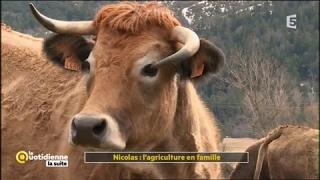 Nicolas : l'agriculture en famille - La Quotidienne la suite