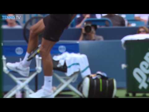 2015 Western & Southern Open Cincinnati - Benoit Paire hotshots v Djokovic