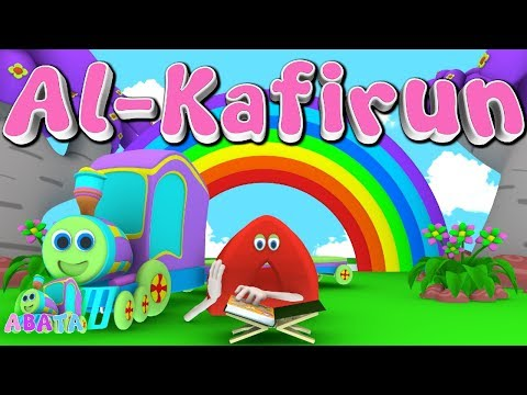 Animation 3D Juz Amma Al - Kafirun | Recite Quran With Battar Train Hijaiyah | ABATA Channel
