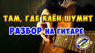 Download ТАМ, ГДЕ КЛЁН ШУМИТ. РАЗБОР НА ГИТАРЕ. fingerstyle Mp3 and Videos