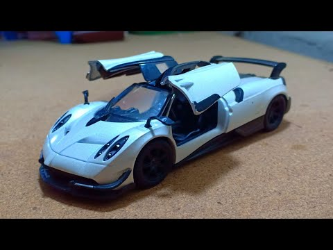 Die-Cast Mini Pagani Huayra Model Car Review For Kids