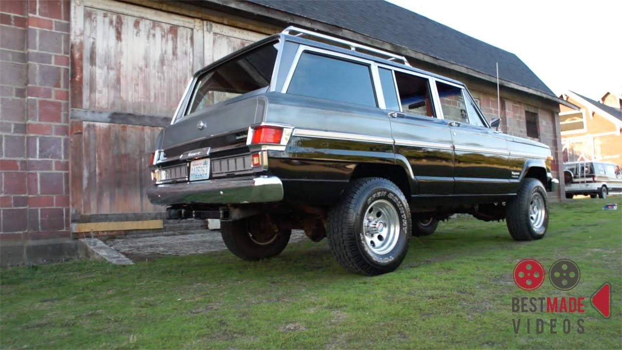 SCC 1979 Jeep Wagoneer - YouTube
