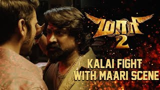 Maari 2 - Kalai Fight With Maari Scene | Dhanush | Sai Pallavi | Krishna | Tovino Thomas