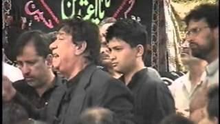 """""""Aye Sher-e-Nayastan-e-Haider Abbas"""" """"Zainab Aur Abbas"""" by Sachay Bhai at Astaana-e-Zehra - 4-24-99"""