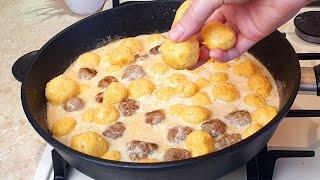 Не знала что из Картошки можно Приготовить такую вкуснятину