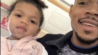 Chance the Rapper and His Daughter on His Private Jet Bow Wow Challenge