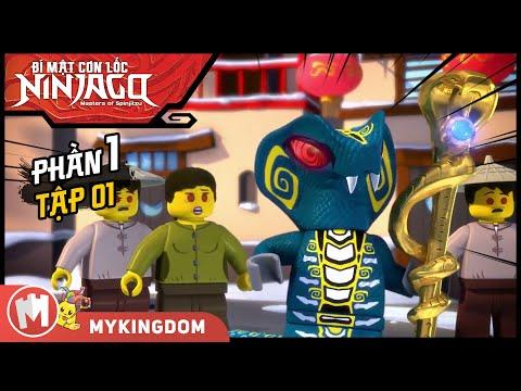 Hoạt hình LEGO Bí mật cơn lốc Ninja Go (Trọn bộ lồng tiếng)