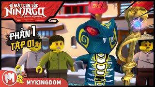 Bí Mật Cơn Lốc Ninjago - Phần 1 | Tập 01:Sự Trổi Dậy Của Đế Chế Rắn - Phim Hoạt Hình Lồng Tiếng Việt