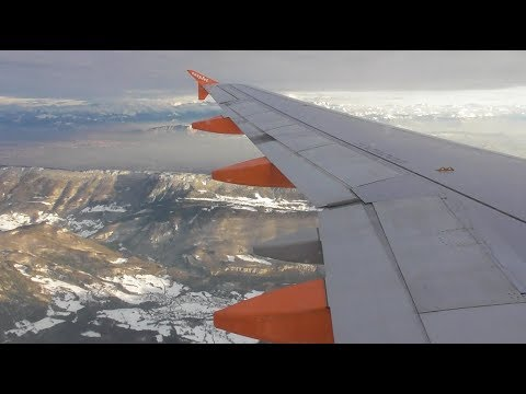 Easyjet Airbus A320-214 | London Luton to Geneva *FULL FLIGHT*