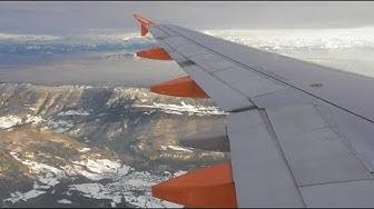 Easyjet Airbus A320-214   London Luton to Geneva *FULL FLIGHT*