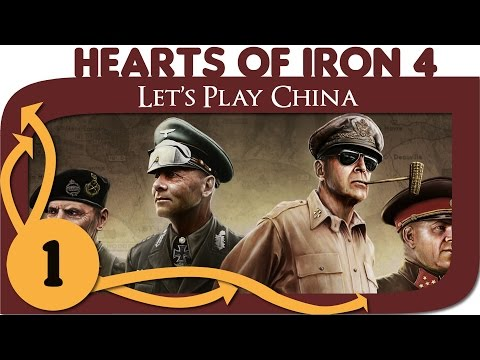Hearts of Iron 4 - Let's Play China - Ep. 1