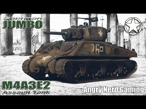 """War Thunder: M4A3E2 """"Assault Tank"""", American, Tier-3, Heavy Tank"""