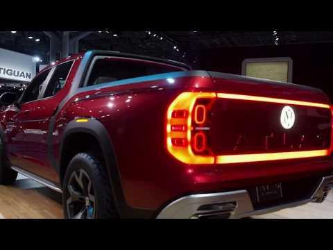 Volkswagen Atlas Tanoak - VW Hint At Production