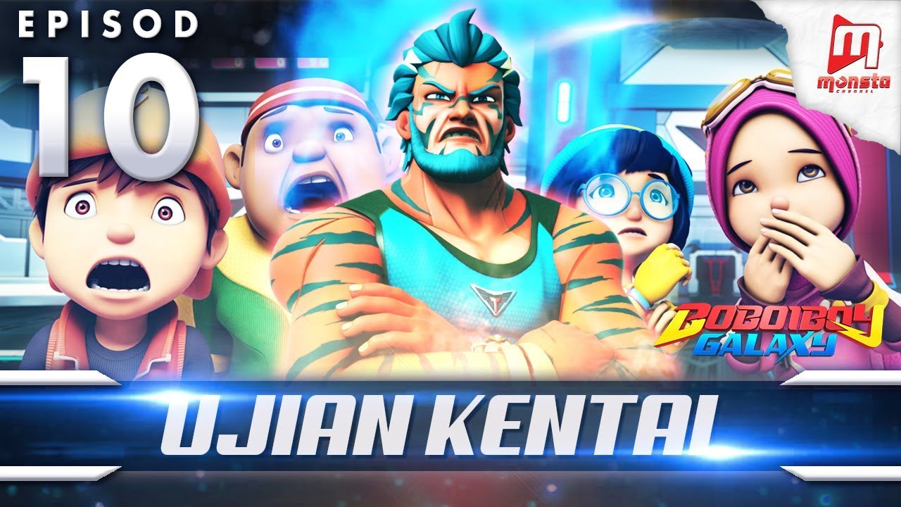 BoBoiBoy Galaxy EP10 | Ujian KENTAL / The Savage Trial (ENG Subtitles)