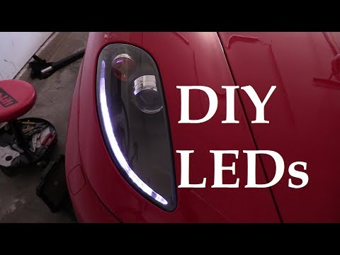 Ferrari F430 DIY LED Position Indicators