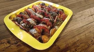 Самая вкусная в мире скумбрия с овощами,  рецепт бомба!