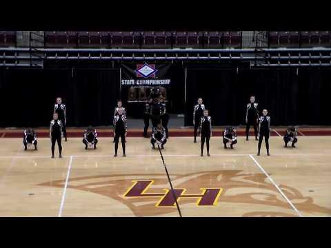 Bauxite High School Dance Team - Kick Routine, 11/09/2019