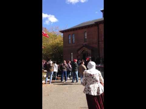 Raising of the Liberty and Union Flag, Taunton Massachusetts
