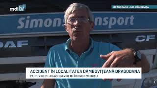 ACCIDENT IN LOCALITATEA DAMBOVITEANA DRAGODANA   YOUTUBE