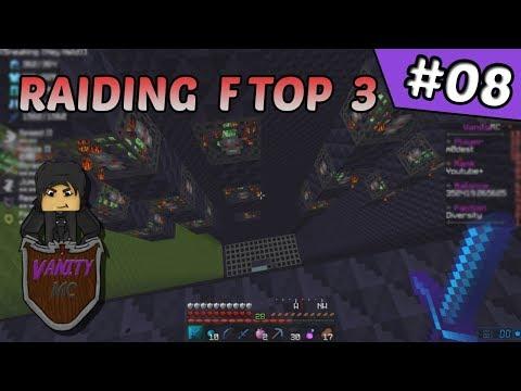 We Raided F TOP #3 !!! | VanityMC #8 (Minecraft Factions)