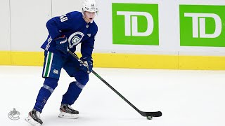 Elias Pettersson Mic'd Up at Canucks Training Camp (January 06, 2021)