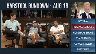 Barstool Rundown - August 16, 2017