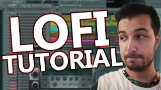 HOW TO MAKE LOFI HIP-HOP - FL Studio Tutorial