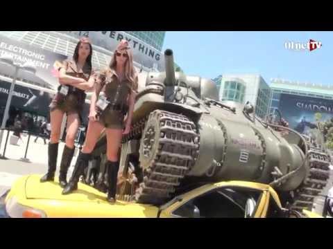 E3 2014 : ambiance du salon du jeu vidéo de Los Angeles
