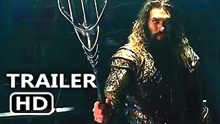 JUSTICE LEAGUE Official Trailer # 2 Teaser (2017) Batman + Superman Superhero Movie HD