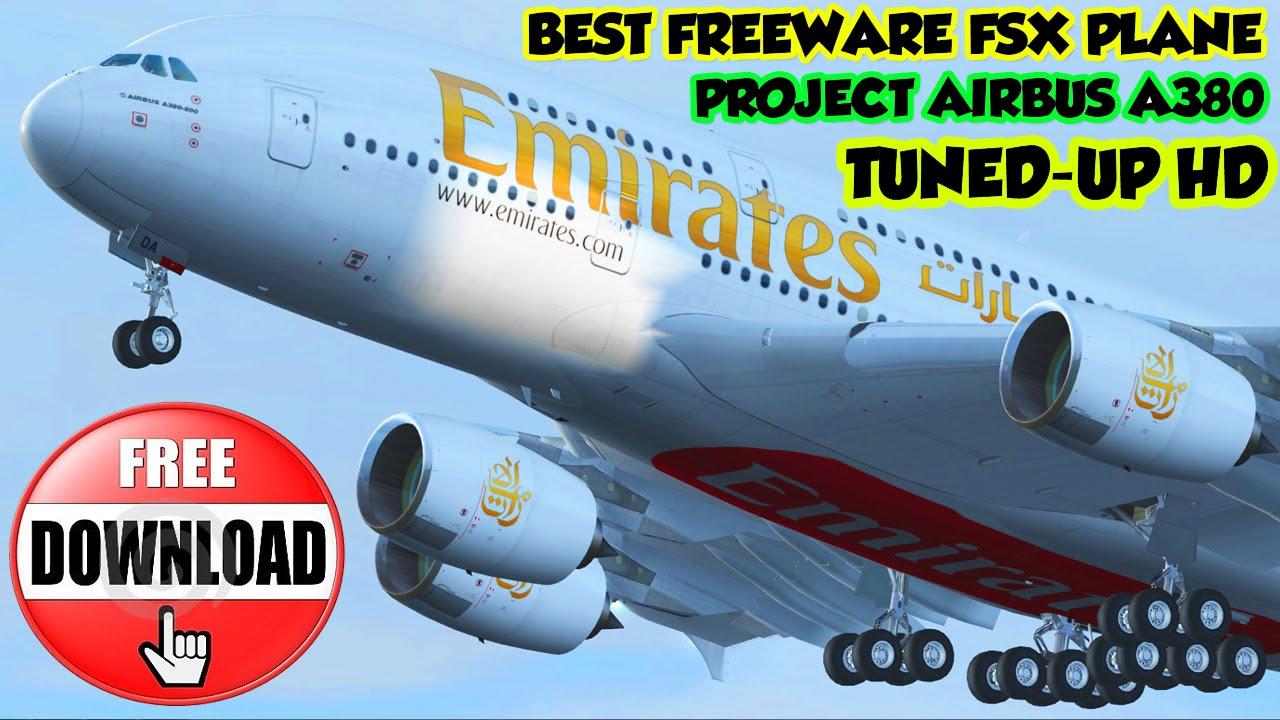 flight simulator airbus a380 free download