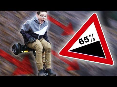 Ultra STEILEN Berg mit HOVERKART runtergerast! (eskalation) +Gewinnspiel Auflösung -DailyVlog 101