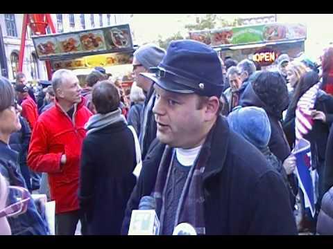 Jesse LaGreca Interview at Occupy Wall Street Nov. 5, New York City