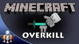 Minecraft [PS4] Overkill Trophy / Achievement (Deal 9 Hearts of Damage)