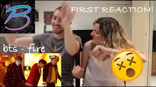 BTS FIRST REACTION EVER!!! Fire Live at the MAMA 2016 [THE BABES]