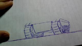 Как нарисовать танк бт-7