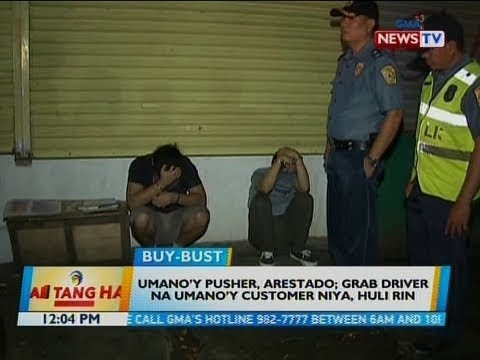 BT: Umano'y pusher, arestado; grab driver na umano'y customer niya, huli rin