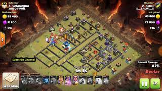 *New Trend* Dragon + Bat Spell War attack Strategy of TH12 and Got 3 Star * | Clash of Clans