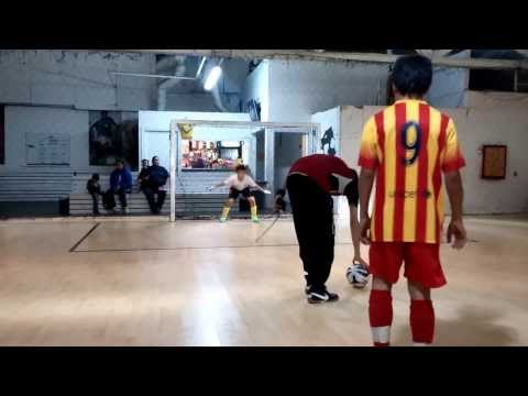 Barcelona vs Dream Team Penalty Shootout at Intaktics Soccer