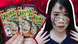 รีวิว แทททูสยองขวัญ สุดหลอนนนน~ ของเล่นแปลกๆจากญี่ปุ่น #2   คะน้า Kanakiss