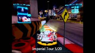 Cars 2 Master Tracker Trophy - All 20 Spy Points Pick-ups