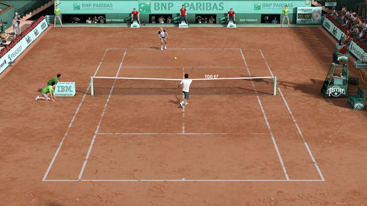 TENNIS - Grand Slam Tennis 2 (PS3) now playable in 2160 4K