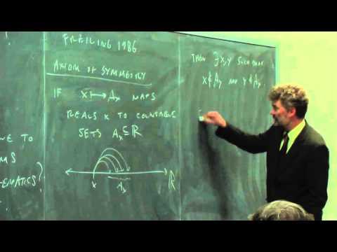 Joel David Hamkins - Apr 27, 2015 - Afternoon Session (Part 2 of 2)