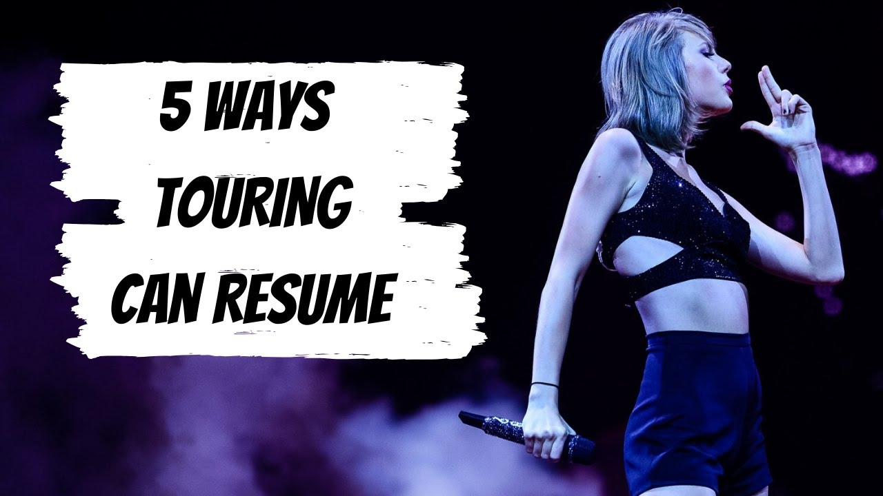 5 Ways To Bring Back Concerts And Touring