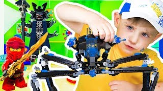 Lego toys for kids The Lego Ninjago Movie Water Strider & Minifigures  Lego Toys - Unboxing