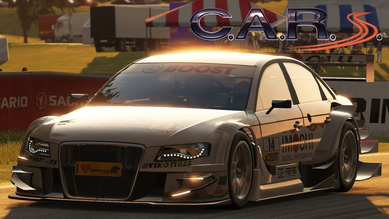 Project Cars Audi A4 At Wisconsin Raceway HD1080P Gameplay Max Settings !!!    YouTube