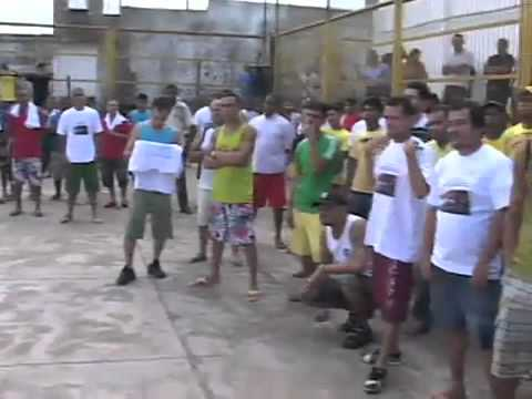 pastor  marcos  pereira ---Culto realizado em presidio de São Luis do Maranhão   -