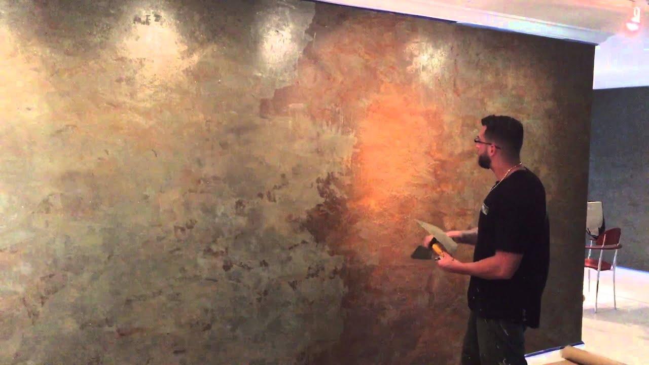Venetian Plaster Ruston Application Youtube