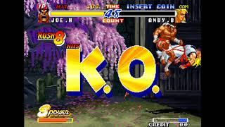 [TAS] Real Bout Fatal Fury 2: The Newcomers - Joe Higashi